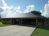 Gray Rustic Shake Aluminum Metal Roof in Cut Off, Louisiana