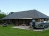 Deep Charcoal Rustic Shake Aluminum Metal Roof in Galiano, Louisiana