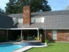 Deep Charcoal Rustic Shake Aluminum Metal Roof in Laplace, Louisiana - Picture 2