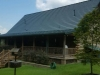 Forest Green Rustic Shake Aluminum Metal Roof in New Orleans, Louisiana - Picture 3