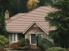 Tan Rustic Aluminum Metal Shingle Roofing