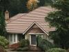 Tan Rustic Aluminum Metal Shingle Roofing