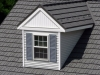 Zoomed in View of Rustic Aluminum Metal Shingle Roofing 2