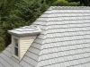 Roof and Dormer with Rustic Aluminum Metal Shingle Roofing