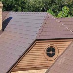 Brown Steel Shingle Roof